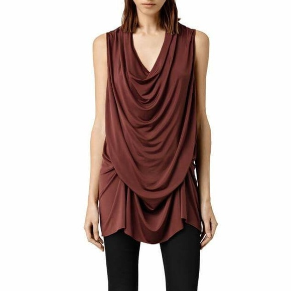 AllSaints Amei Sleeveless Dress w/ Tags Amazing Price Online F7PuOyrbN
