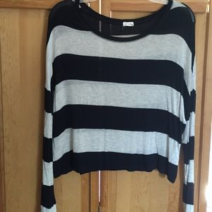 Garage Tops - Striped long sleeve