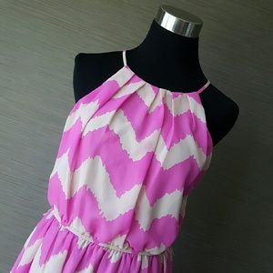 As U Wish Dresses & Skirts - As U Wish Chevron Dress