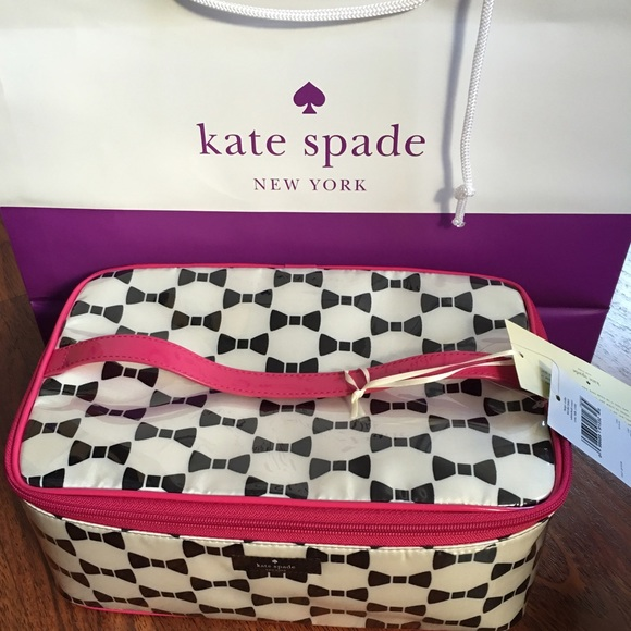 7272f29a1649 Kate Spade Whitehall Court Large Colin Train Case NWT