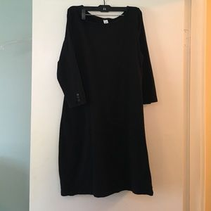 Old Navy black stretch dress