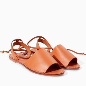 Zara Shoes - Zara leather sandals