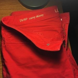 Pants - Red pants
