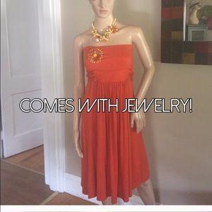 Susana Monaco Dresses & Skirts - Susana Monaco dress with bonus jewelry