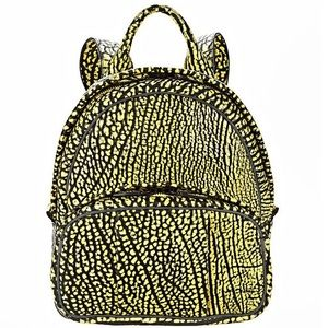 Alexander Wang Handbags - Alexander Wang Dumbo textured-leather backpack