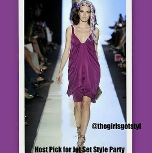*Host Pick*  DVF 'Pepet' Spring Runway Dress