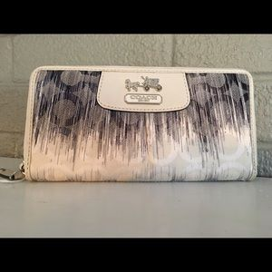 Coach Handbags - SALE!! Authentic. Coach Zip Wallet - Price Firm