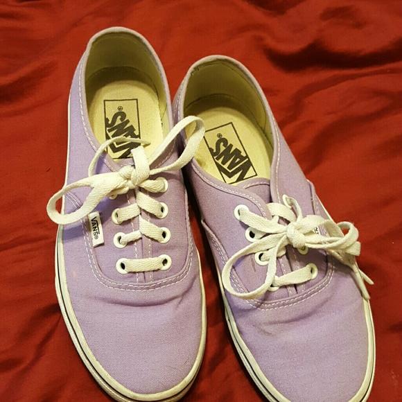 b176b7d13c7 Vans Shoes - Lavender vans