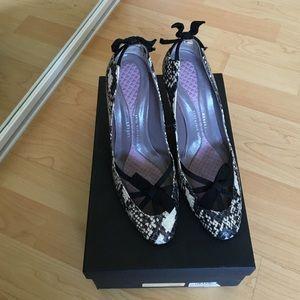 Anya Hindmarch Shoes - Anya Hindmarch Annalisa python ribbon heels - 39