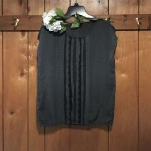 5 for $25 bundle! LOFT Black blouse
