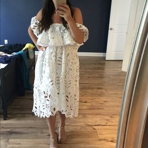 ChicWish off the shoulder dress