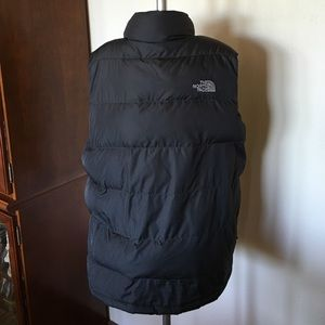9c79116b1 The North Face Gray Yellow Puffer Vest Boys XL