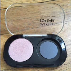 Makeup Forever Dual Palette and Single Shadow