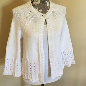 A. Giannetti Sweaters - Adorable white sweater