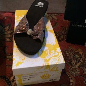 Yellow Box sandal