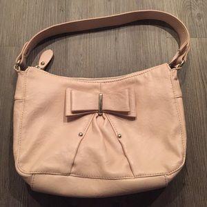 Elle Pink Bow Bag