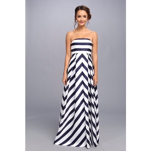 5877008f583 Jessica Simpson Dresses   Skirts - Jessica Simpson Nautical Striped Maternity  Maxi