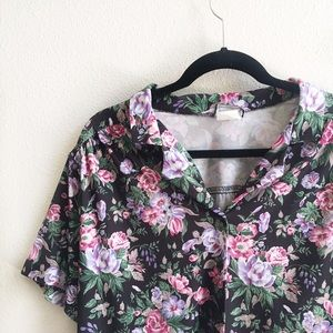 Tops - Vintage Floral Button Down