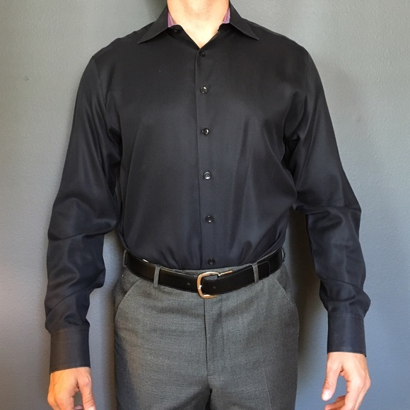 Thomas Pink - Thomas Pink Black Dress Shirt from Geoff's closet on ...