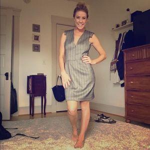 Karen Zambos Dresses & Skirts - Karen Zambos Herringbone Suit Dress