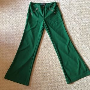 Corey Lynn Calter | Green Chinos, Size 4. Like New