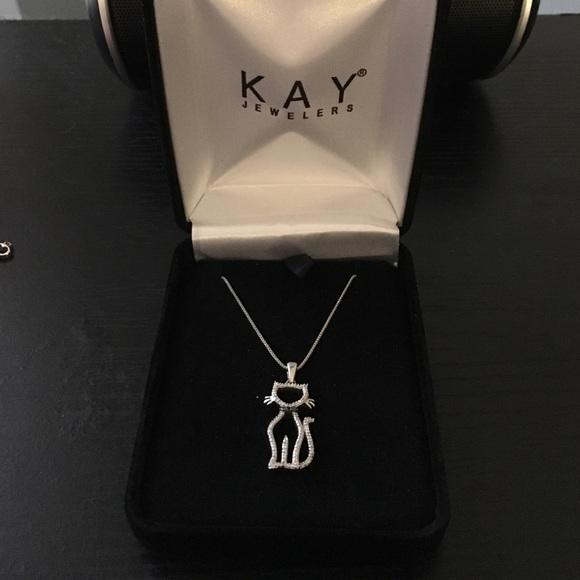 f5340623c Kay Jewelers Jewelry - Kay jewelers diamond cat necklace