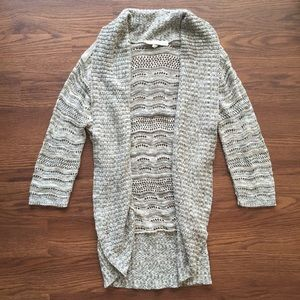 a knitch above Sweaters - Brown Open-Front Cardigan