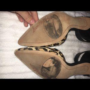 295af9bb24324 Sam Edelman Shoes - Sam Edelman Cheetah Heels ‼ MOVING SALE ‼