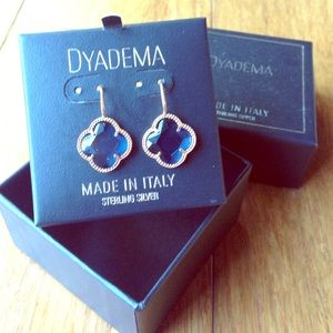 Dyadema Jewelry - Dyadema earrings from Italy blue