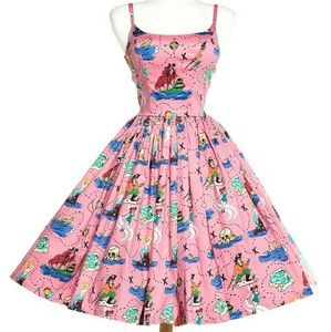 Brand new Pinup Girl Clothing Neverland Dress