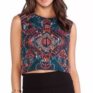 Antik Batik Tops - ANTIK BATIK Classic Top Patterned Bohemian Beaded