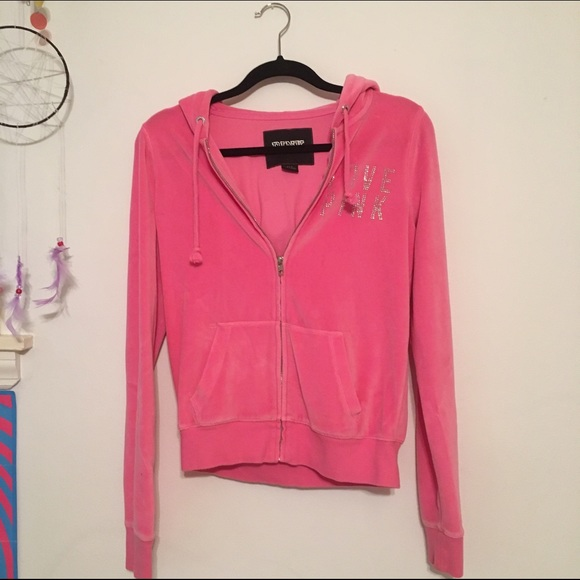 43% off PINK Victoria's Secret Sweaters - velvet pink vs zip up ...