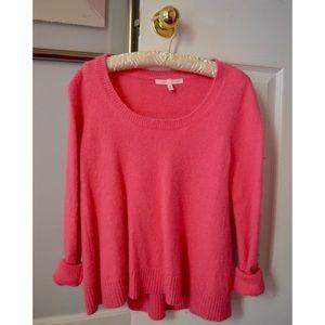 Victorias Secret Sweaters Pink Fuzzy Sweater Victorias Secret