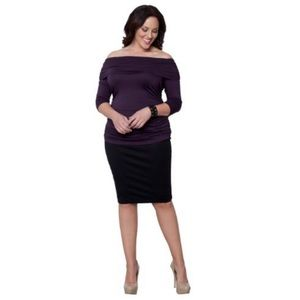 Kiyonna Dresses & Skirts - Kiyonna Black Pencil Skirt 1X 14/16 classic work