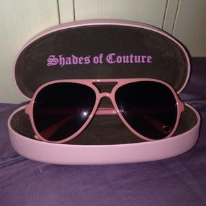 Pink Juicy Couture sunglasses