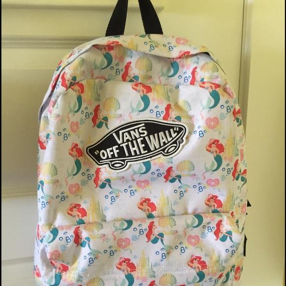 a58b0e8e0e3 VANS Disney Ariel backpack. M 57969ddb3c6f9f914a0032e0