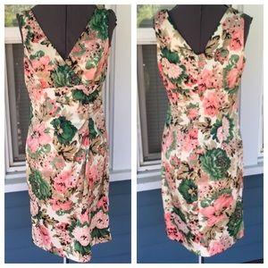 Donna Ricco Dresses & Skirts - DONNA RICCO NY Pink Floral Dress