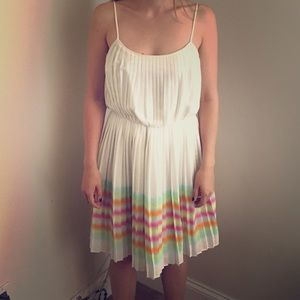 White Calvin Klein summer dress ✨HP 7/6 & 7/7/17