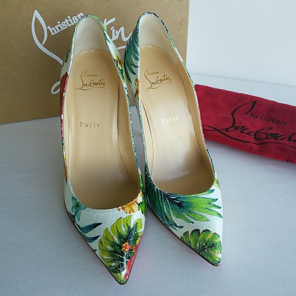 c24992c5b6cc ... shopping christian louboutin hawaii floral pigalle pumps df7f6 587db