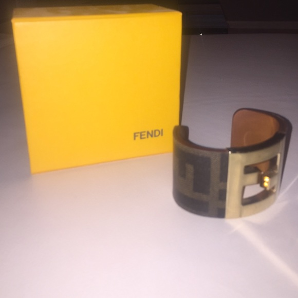 b3221071cc9 Fendi Jewelry - Fendi cuff bracelet