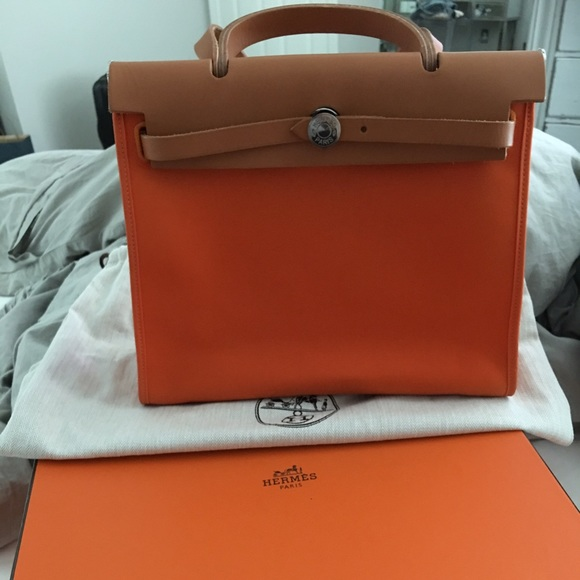 6a449b9c3f9d ... greece sold hermes herbag zip 31 shoulder bag 2a668 fd1c0