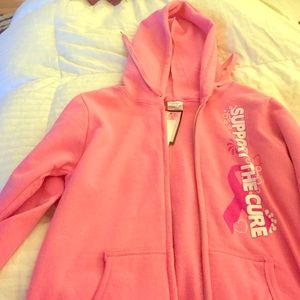 Sweaters - Support the cure breast cancer hoodie