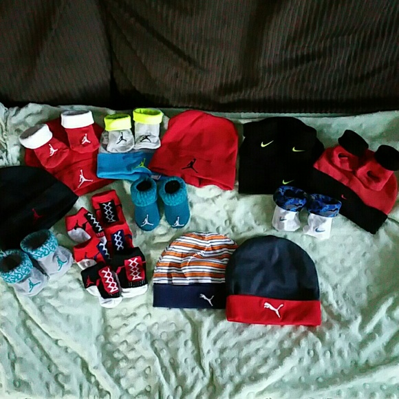 Jordan Other - Baby boy lot Jordan nike hats n socks ebfdc4110d5