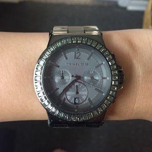 Gunmetal Michael Kors Watch