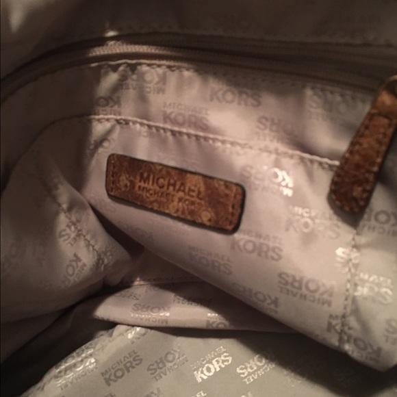 53829ae5b6ea ... MICHAEL Michael Kors Bags - Michael Kors Bedford Ostrich tote ...