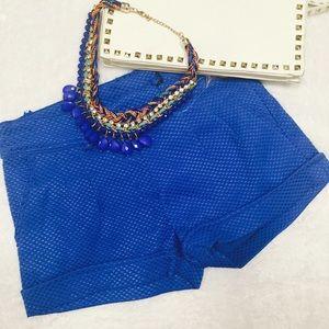 Boutique  Pants - ❤Beautiful blue shorts