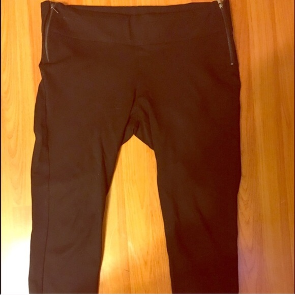 Black Slim Zara Pants/Treggings From