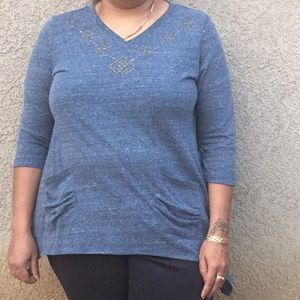French laundry  Tops - Asymmetrical Top