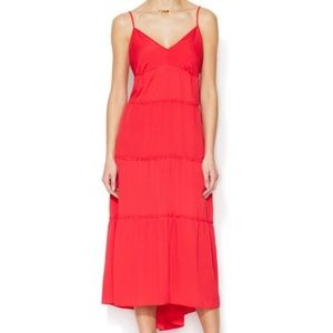 BCBG dress, spaghetti strap, v-neck