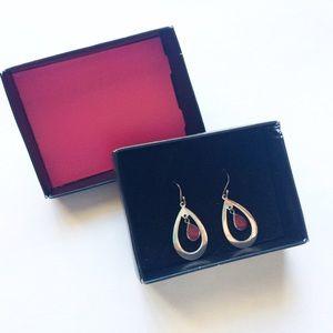 Jewelry - NIB double teardrop earrings
